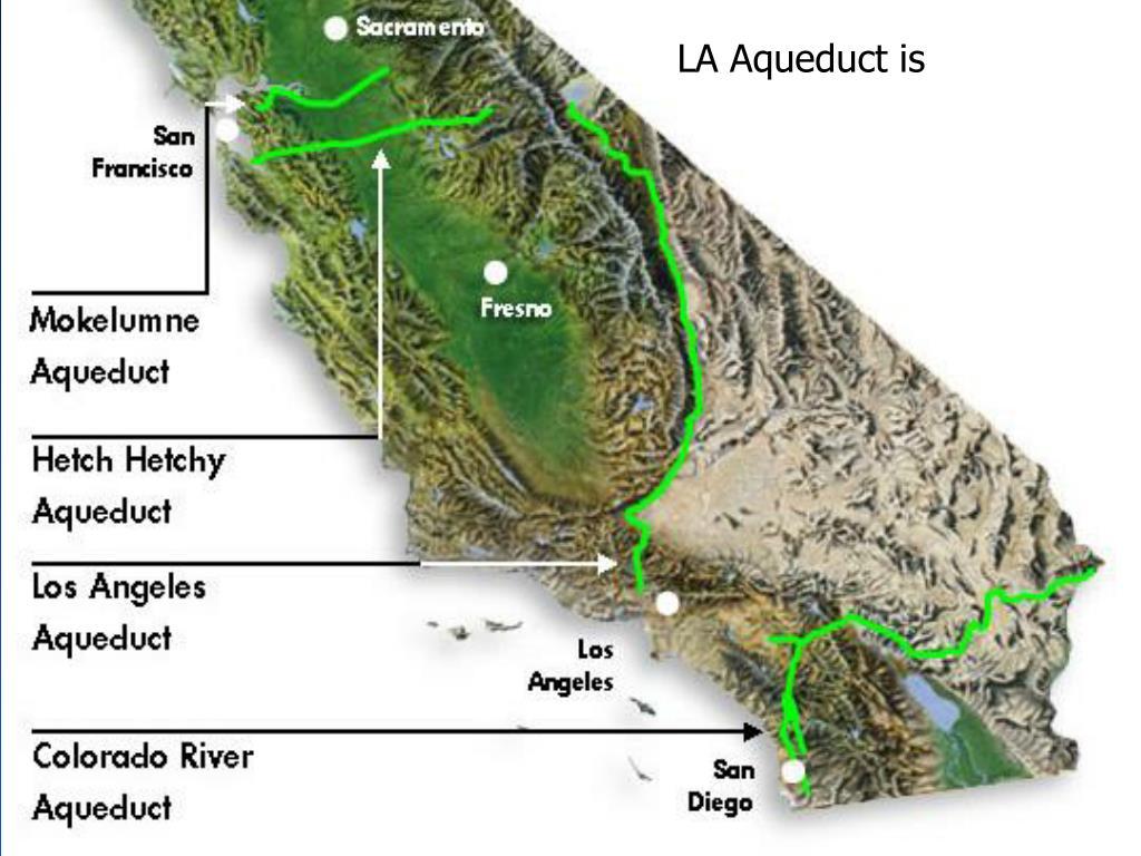 LA Aqueduct is
