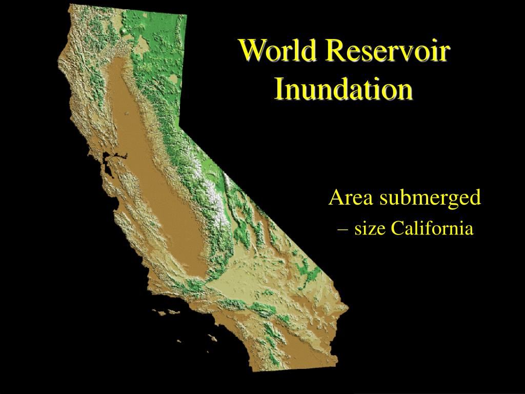 World Reservoir Inundation