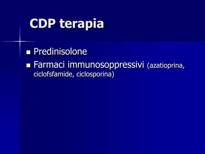 CDP terapia