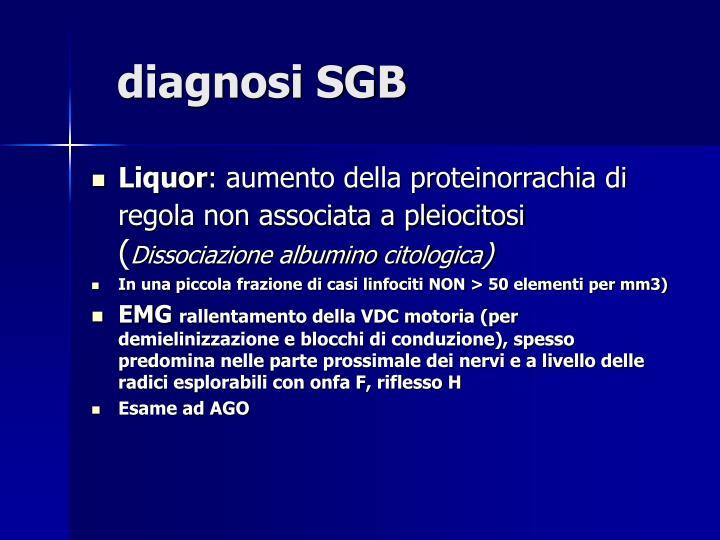 diagnosi SGB