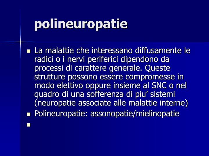 polineuropatie