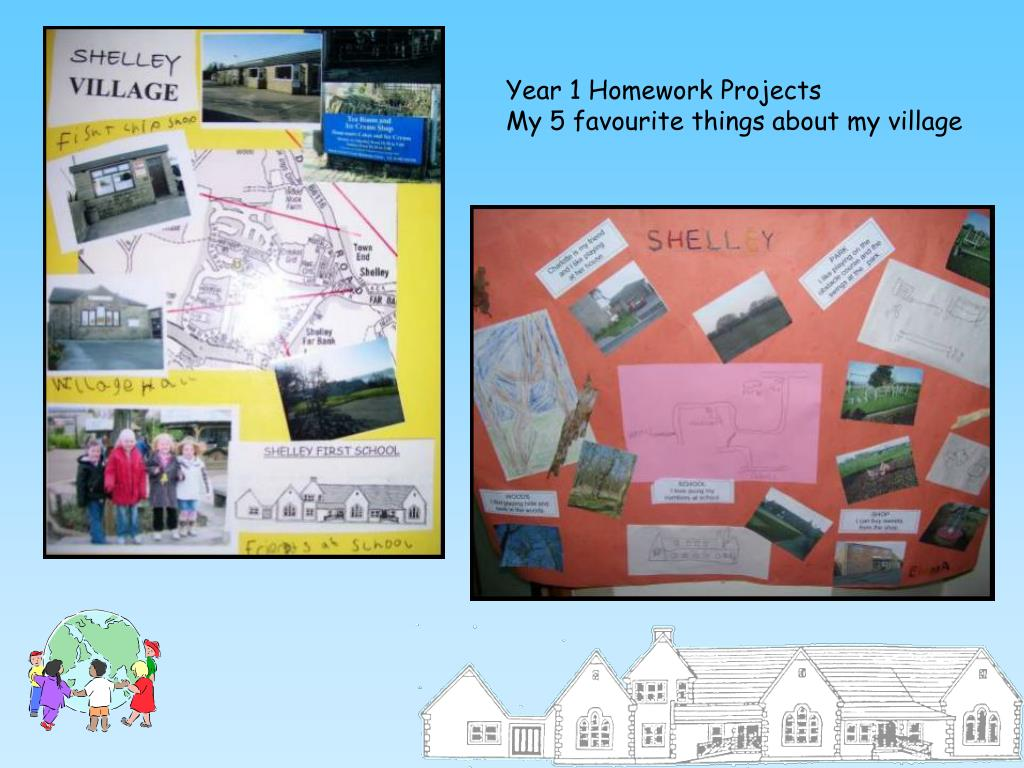 Year 1 Homework Projects