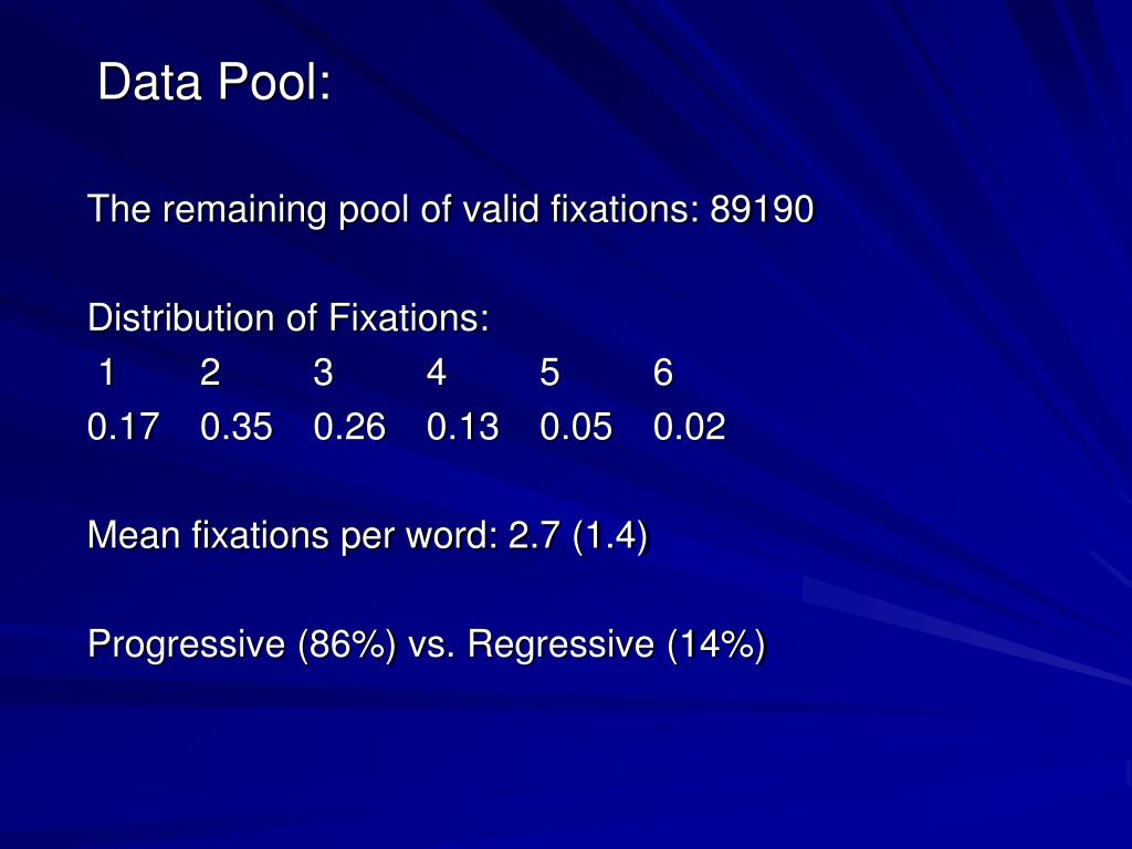 Data Pool: