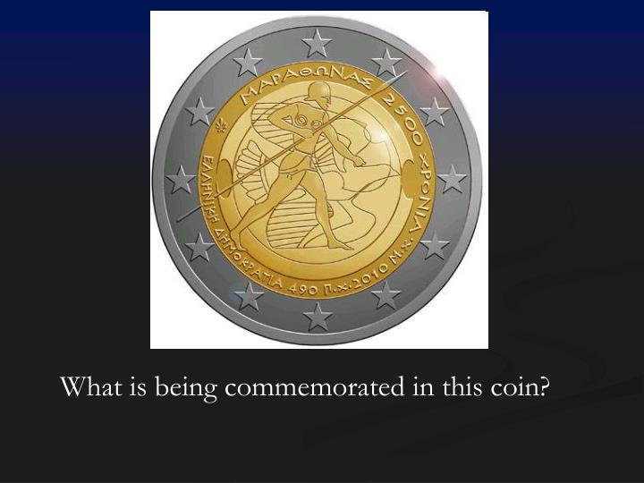 What is being commemorated in this coin?