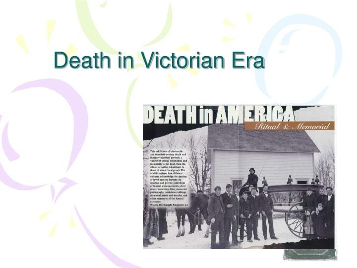 Death in Victorian Era