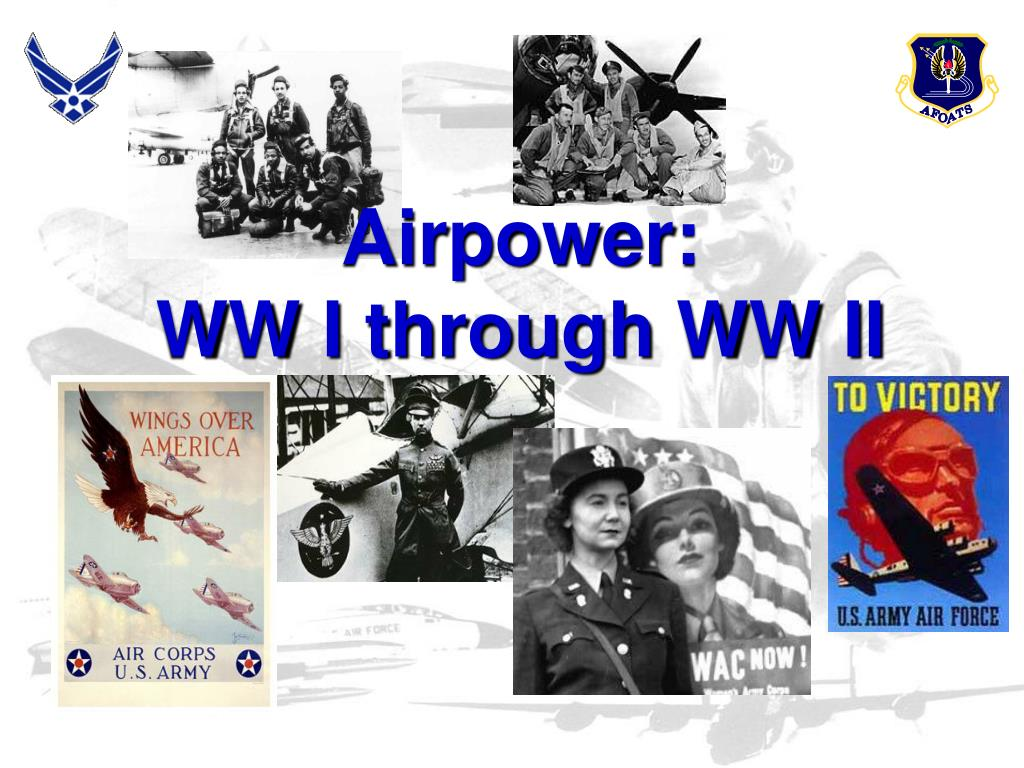 airpower ww i through ww ii