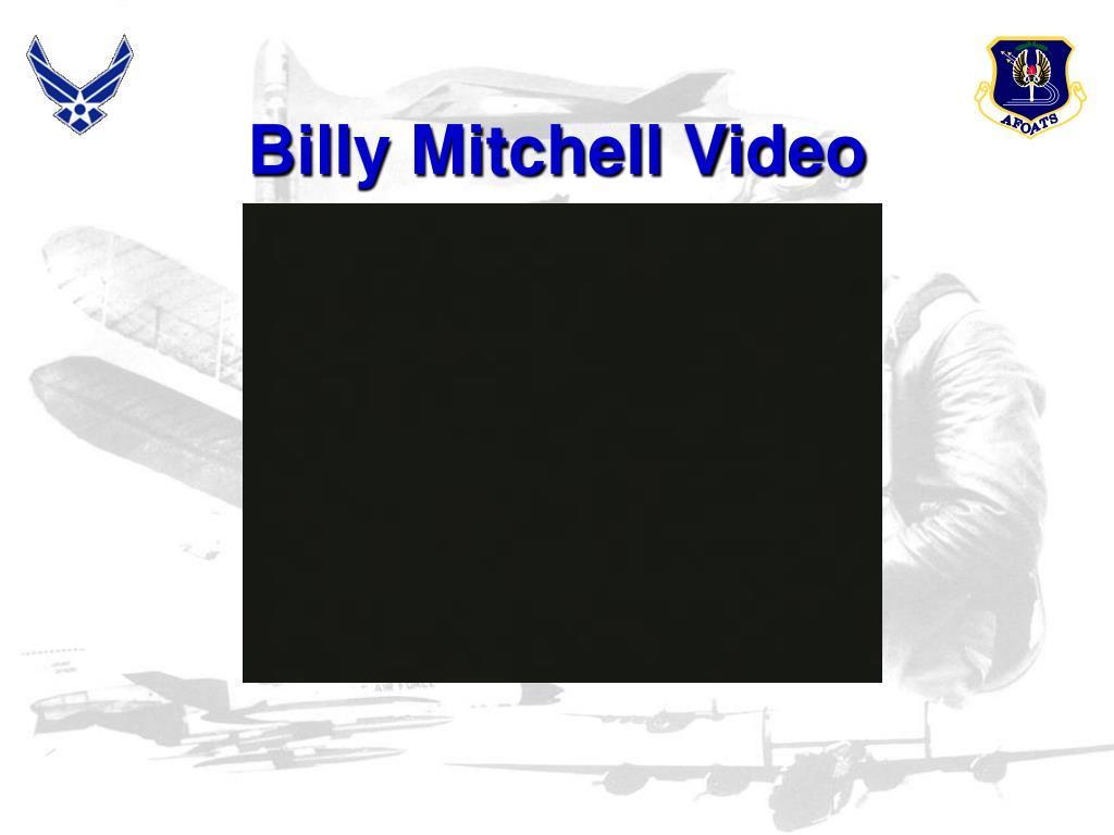 Billy Mitchell Video