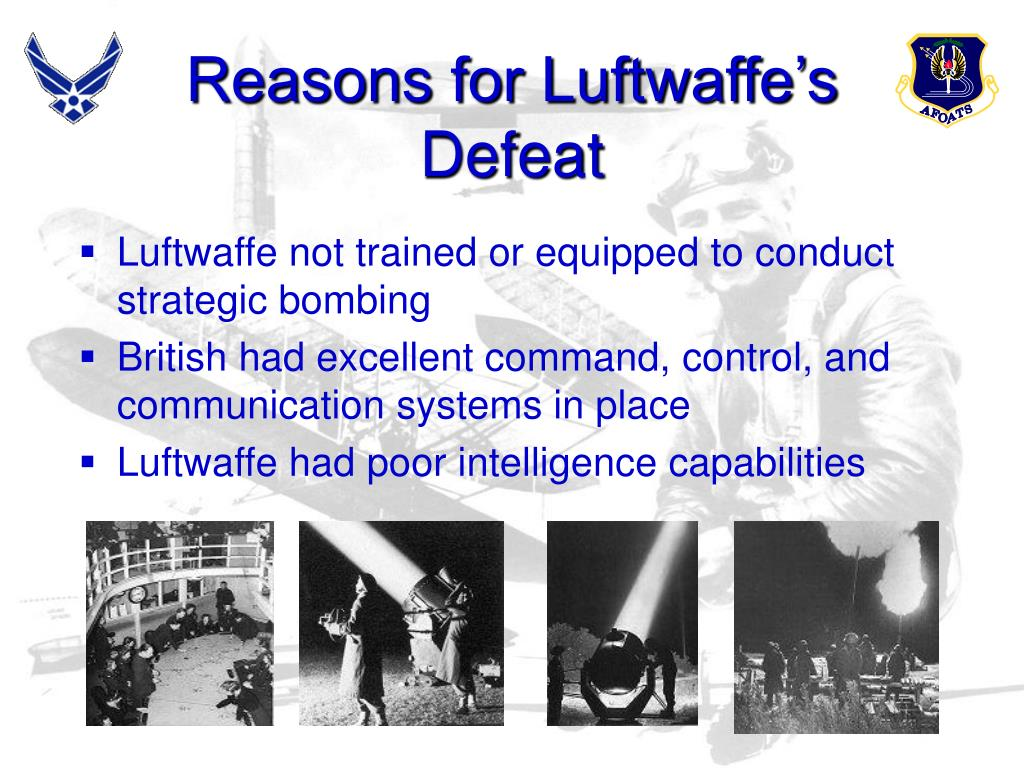 Reasons for Luftwaffe's Defeat