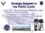 strategic airpower in the pacific cont