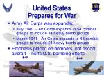 united states prepares for war