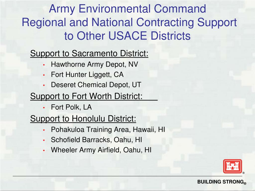 Army Environmental Command