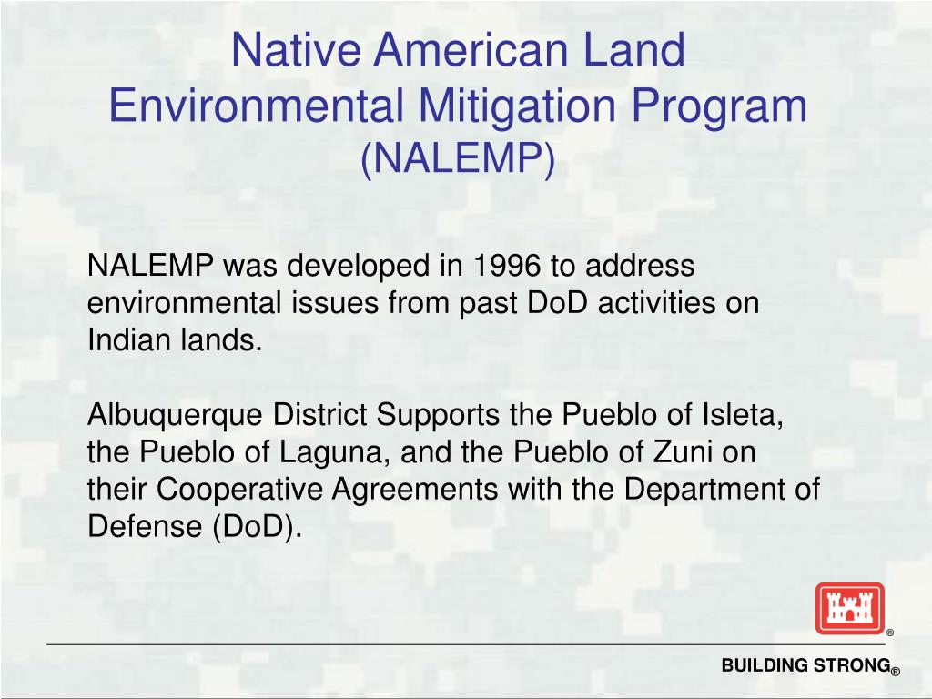 Native American Land Environmental Mitigation Program