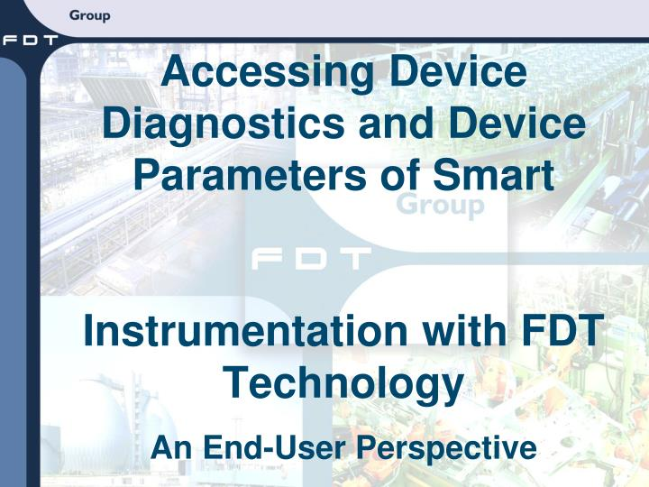 Accessing Device Diagnostics and Device