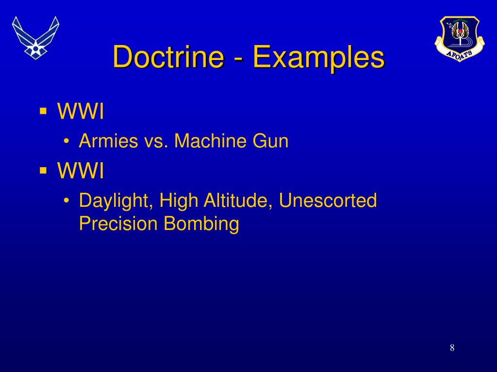 Doctrine - Examples