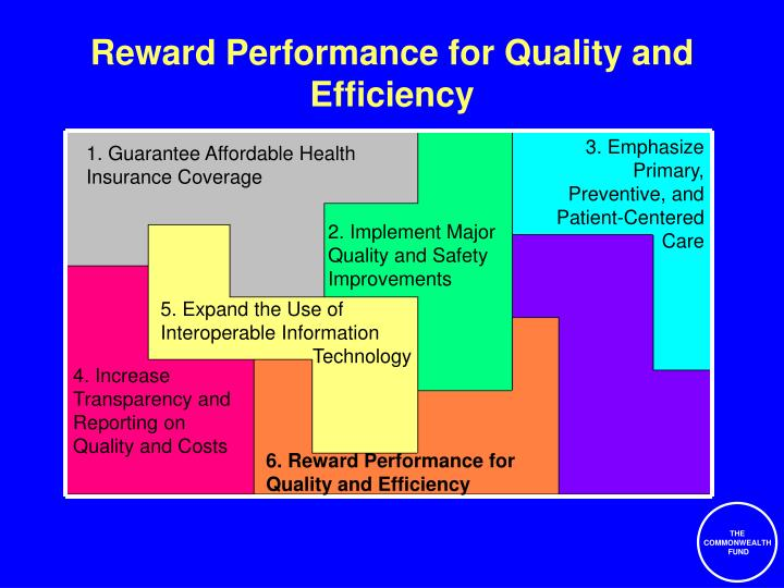 Reward Performance for Quality and Efficiency