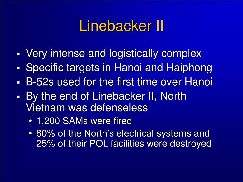 Linebacker II