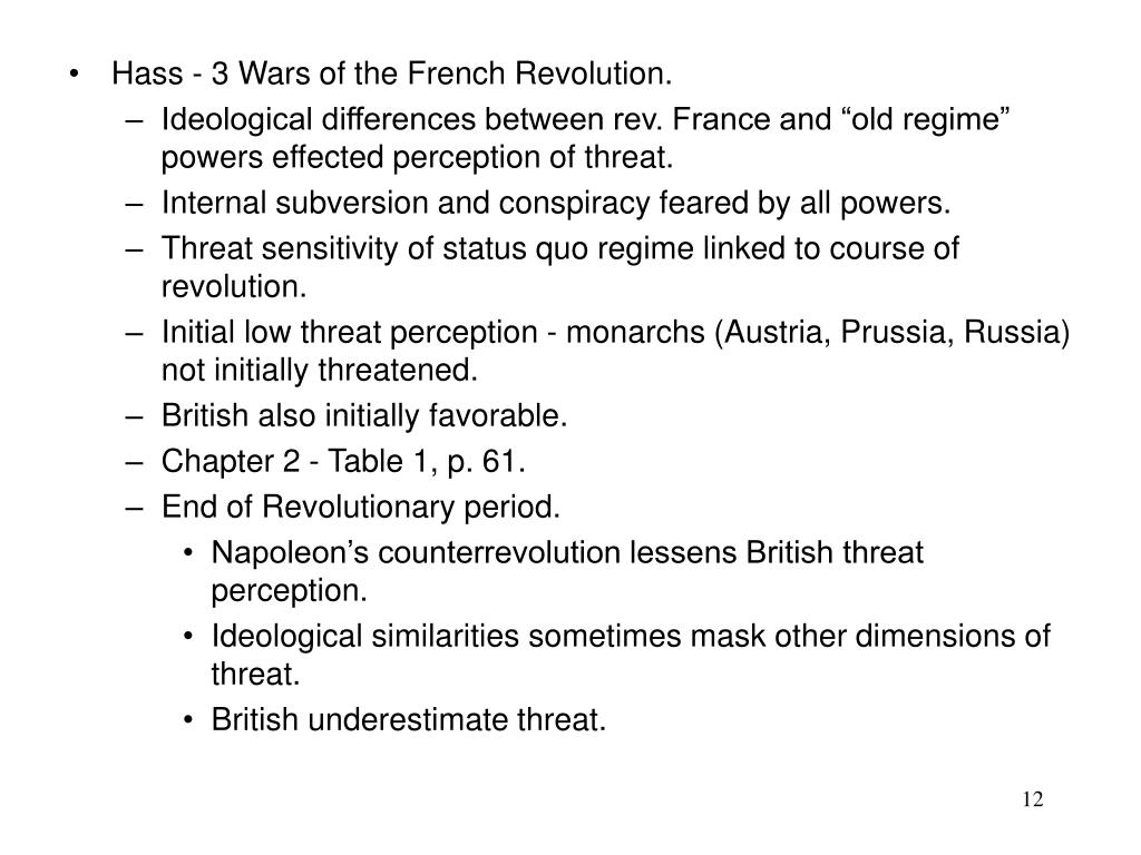 Hass - 3 Wars of the French Revolution.