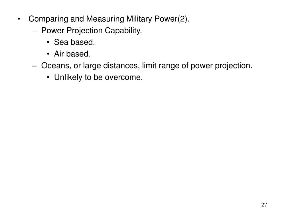 Comparing and Measuring Military Power(2).