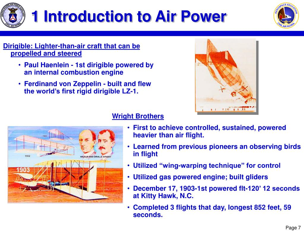 1 Introduction to Air Power