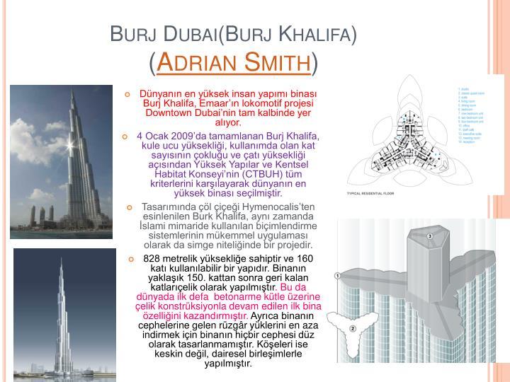 Burj Dubai(Burj Khalifa)