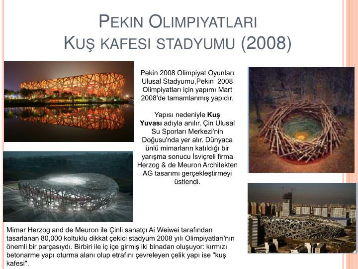 Pekin Olimpiyatları
