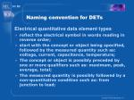 naming convention for dets14