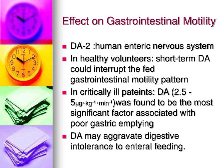 Effect on Gastrointestinal Motility