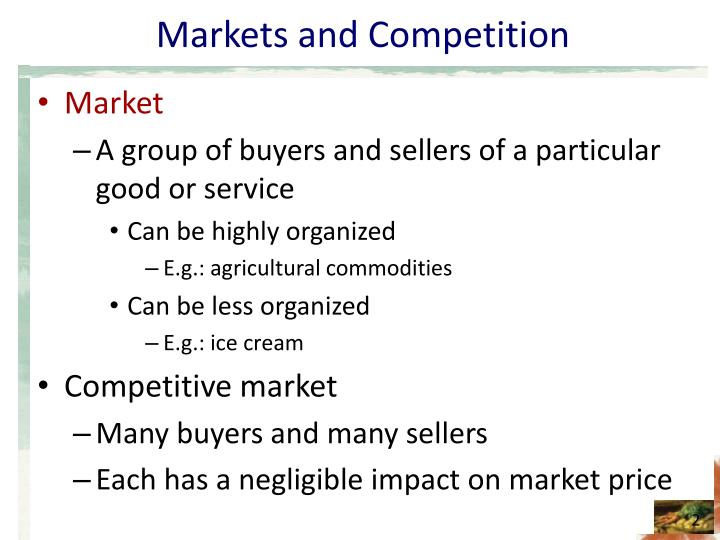 Markets and competition l.jpg