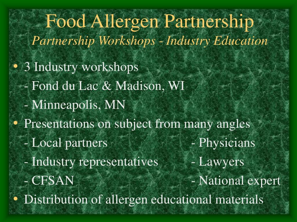 Food Allergen Partnership