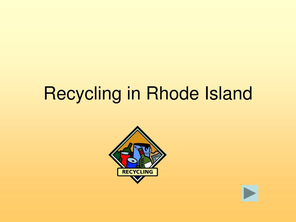 Recycling in Rhode Island