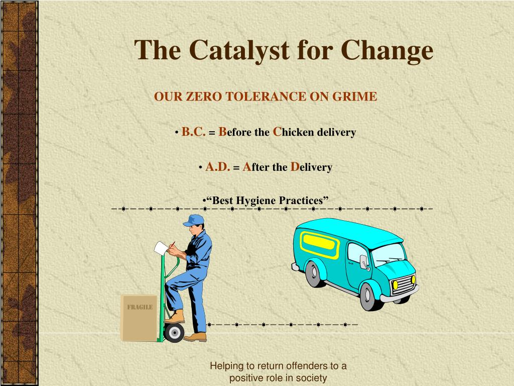The Catalyst for Change