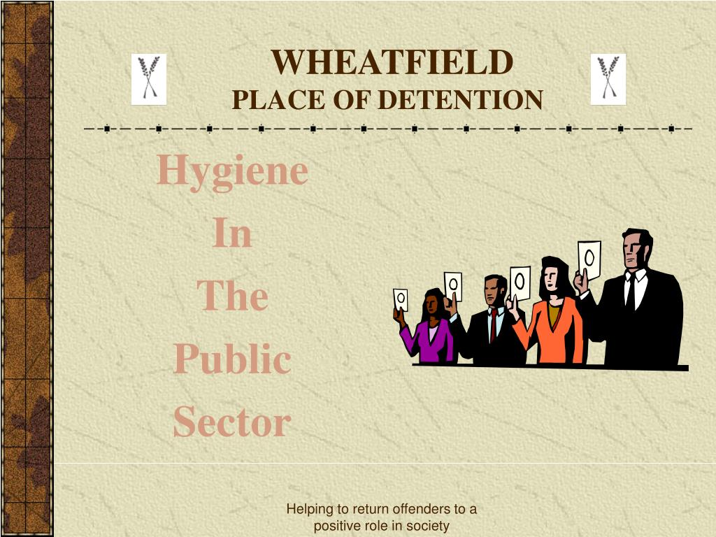wheatfield place of detention