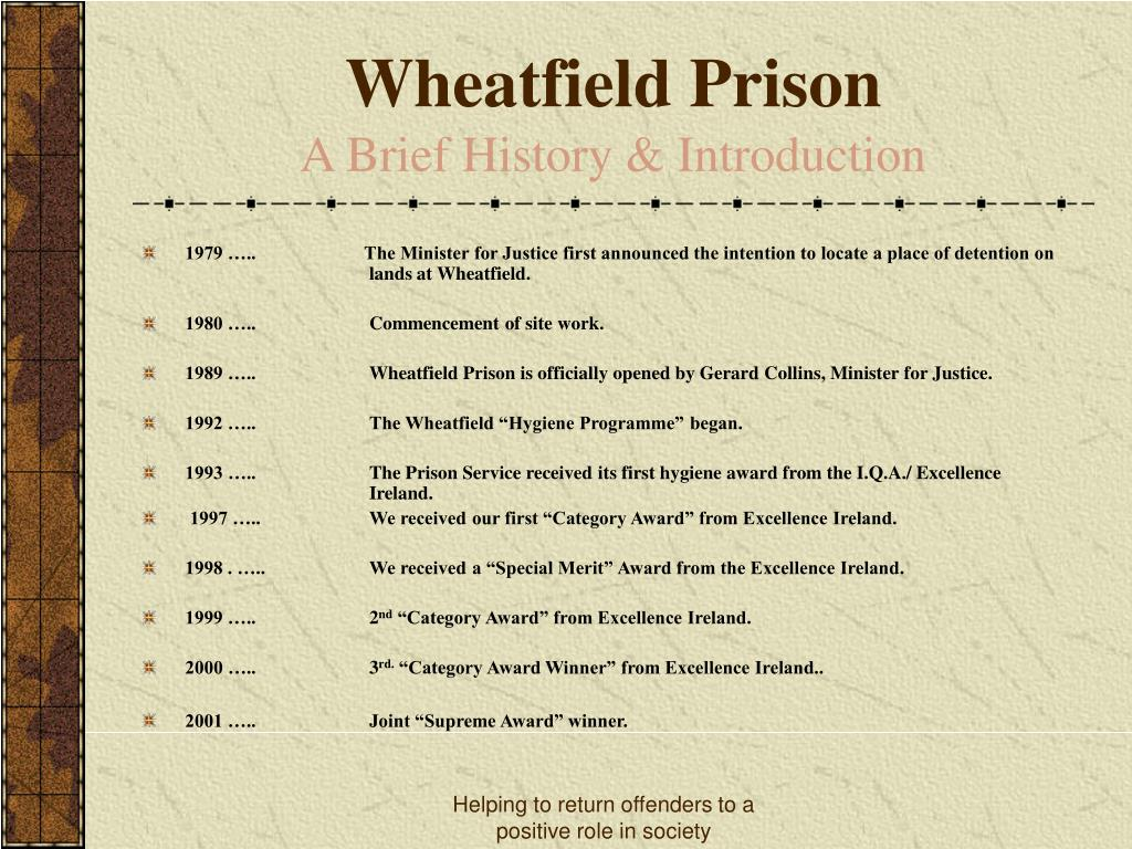 Wheatfield Prison
