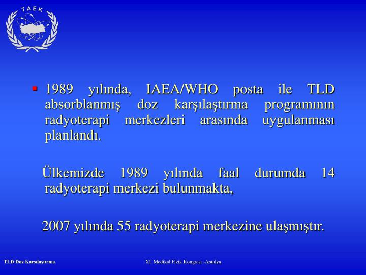 1989 ylnda, I