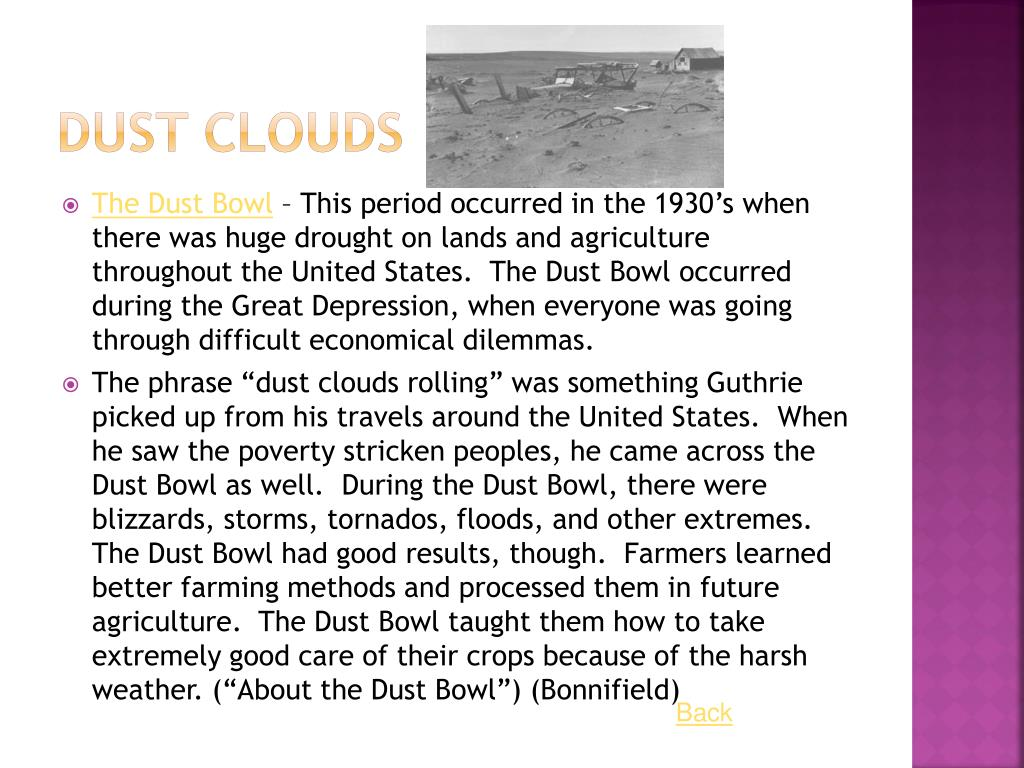 Dust Clouds