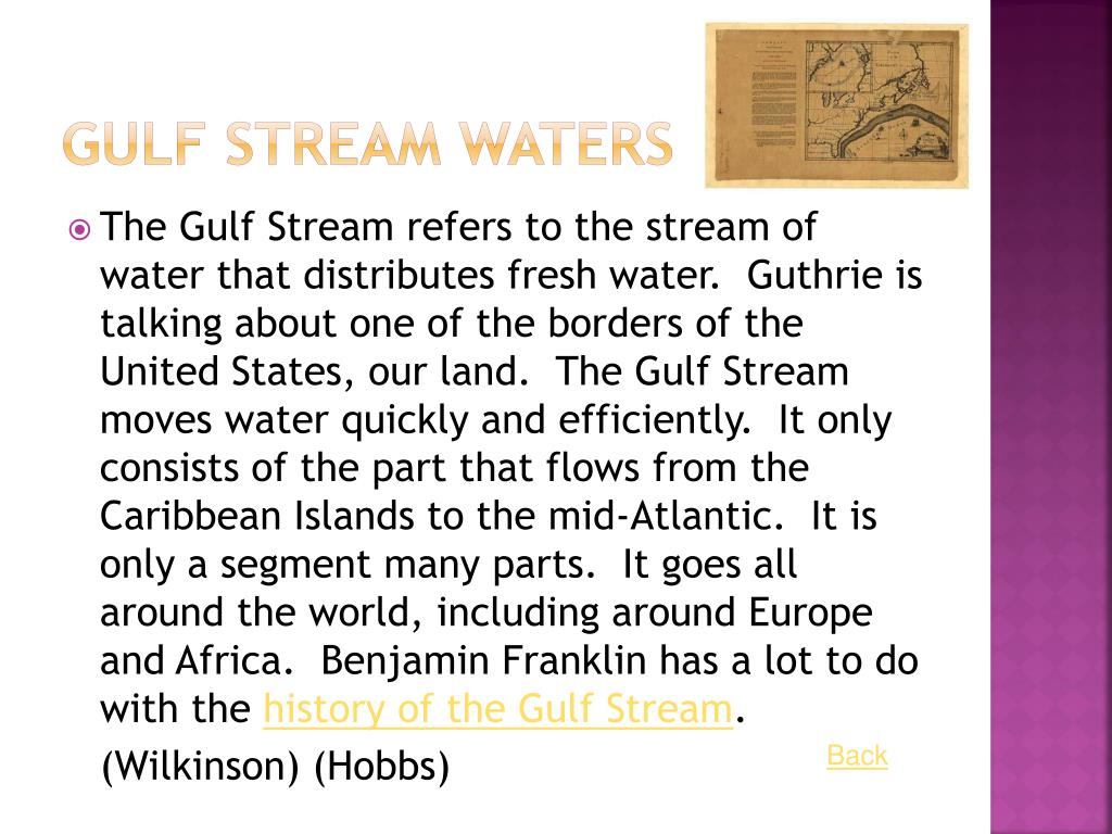 Gulf Stream Waters