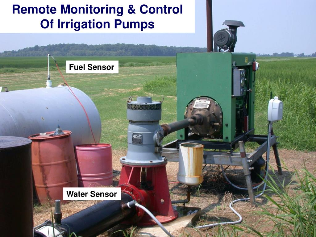 Remote Monitoring & Control Of Irrigation Pumps