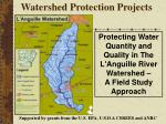 watershed protection projects