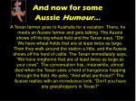and now for some aussie humour