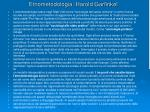 etnometodologia harold garfinkel