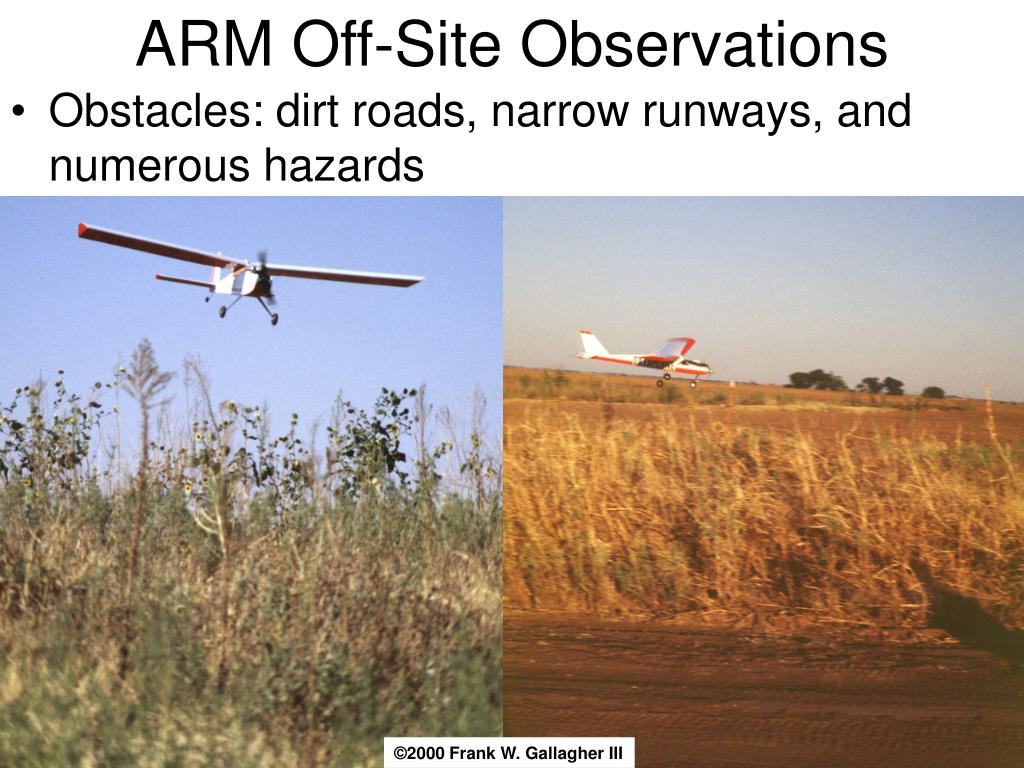 ARM Off-Site Observations