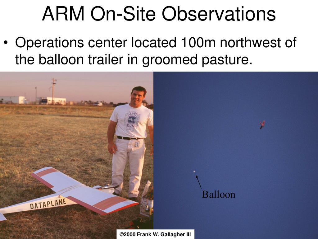 ARM On-Site Observations