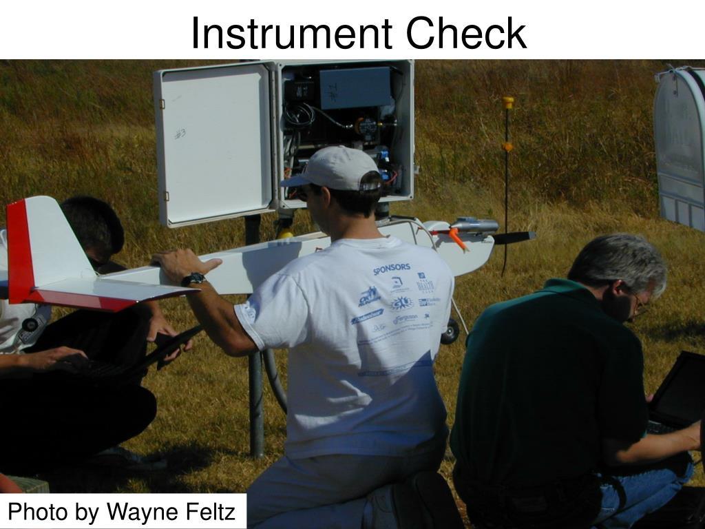 Instrument Check
