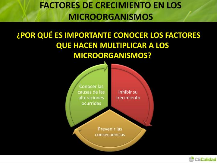 FACTORES DE CRECIMIENTO EN LOS MICROORGANISMOS
