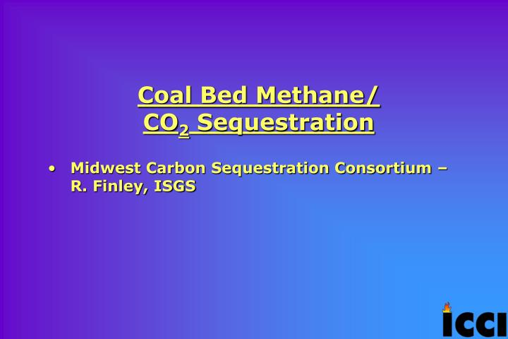 Coal Bed Methane/