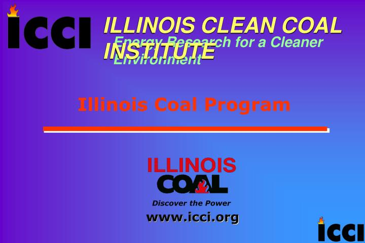 Illinois coal program