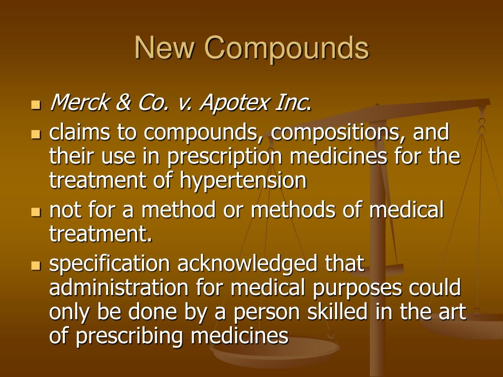 New Compounds