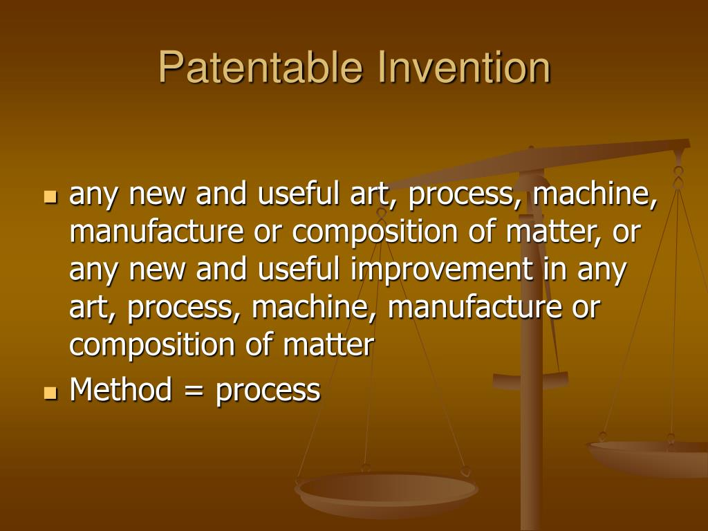 Patentable Invention