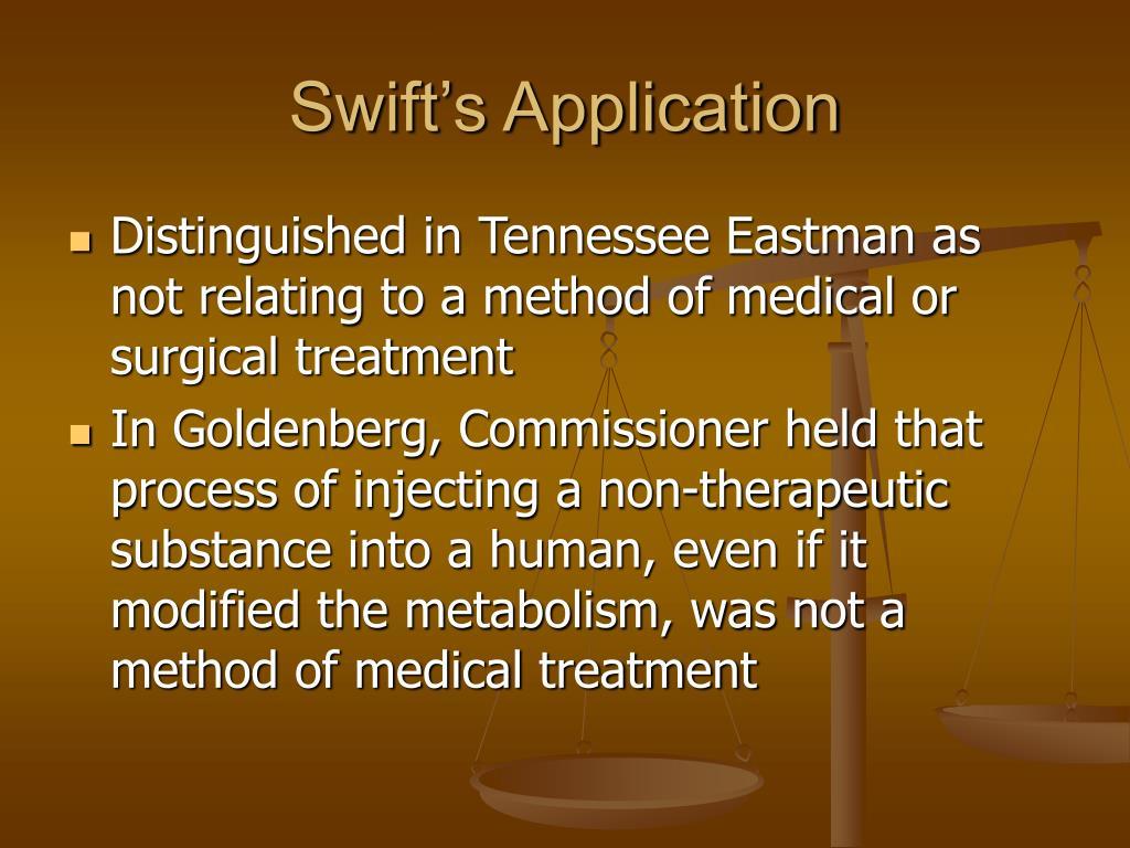 Swift's Application