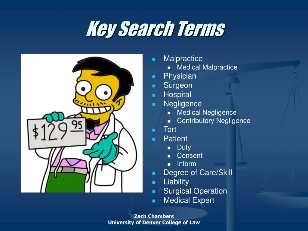 Key Search Terms